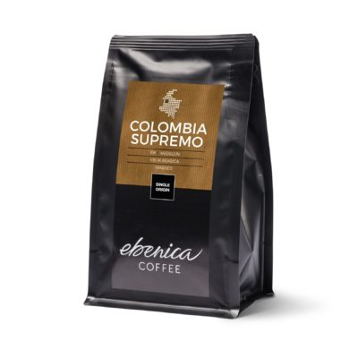 packaging of Colombia Supremo