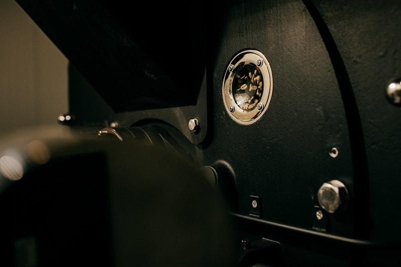 new roasting machine in detail