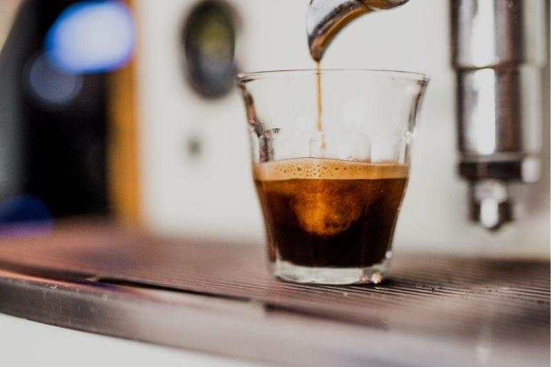 preparation of ristretto coffee