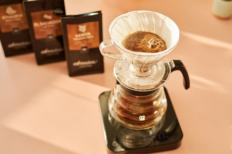 samples for filtered coffee