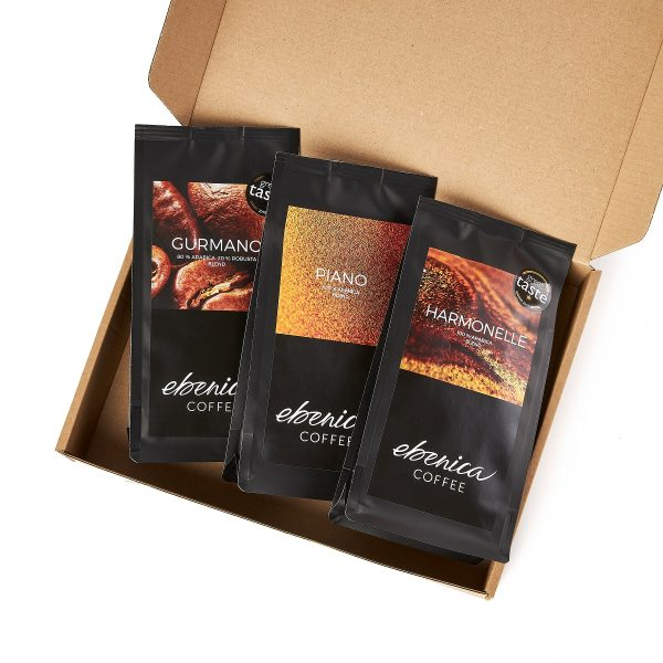 samples of Ebenica classic coffees
